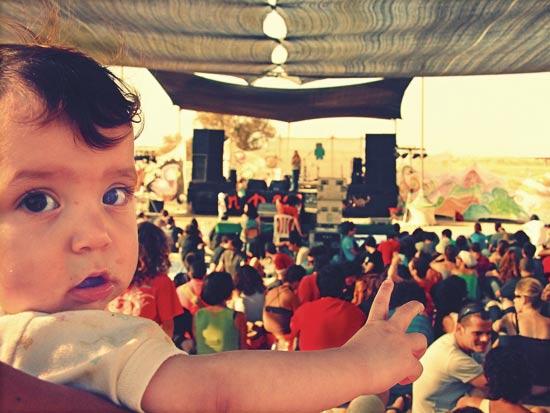 הופעה פסטיבל אינדינגב / צלם: יחצ